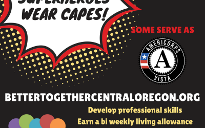 We are currently recruiting for an AmeriCorps VISTA member